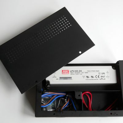 MeanWell Hardwire 60 power power supply with enclosure